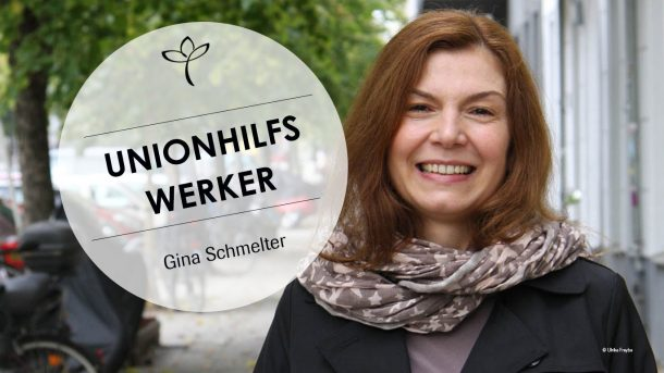 Porträtfoto von Gina Schmelter.
