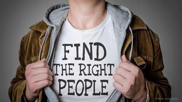 Das Personalmarketing beschäftigt sich damit, die richtigen Kollegen zu finden