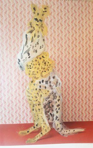 Die Känguru-Leoparden-Dame von Gaby Ceszlik