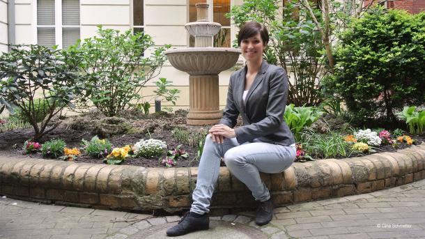 Sandra Grün vom Betrieblichen Gesundheitsmanagement