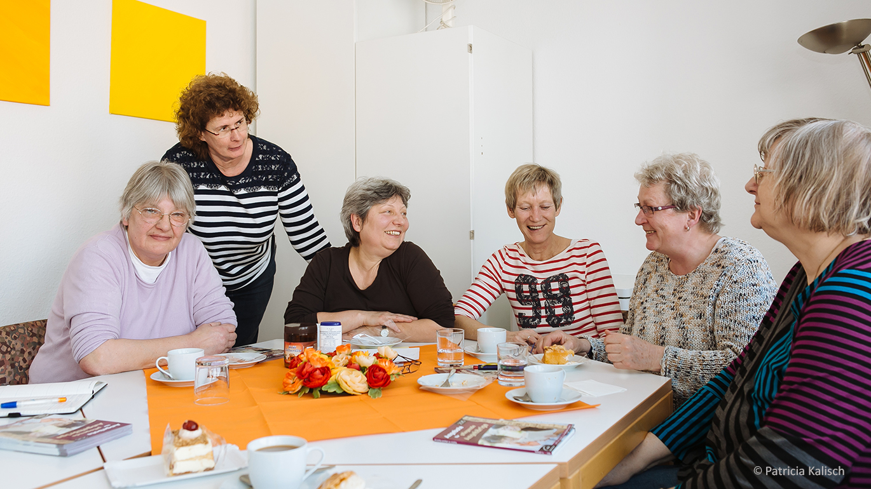 Gesprächsgruppe für pflegende Angehörige